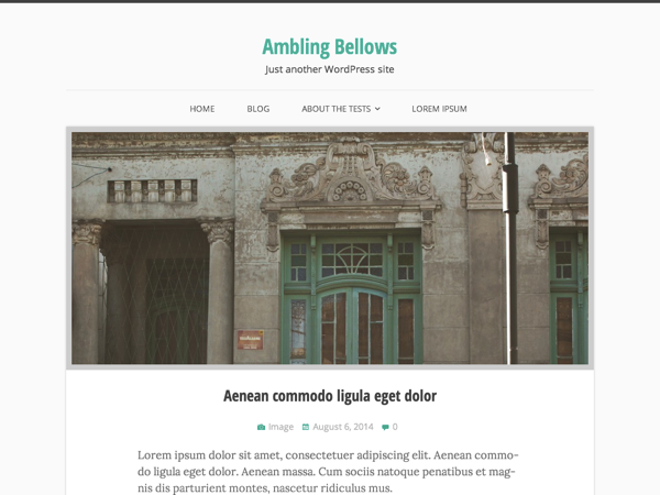 Ambling Bellows screenshot