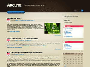 Arclite screenshot