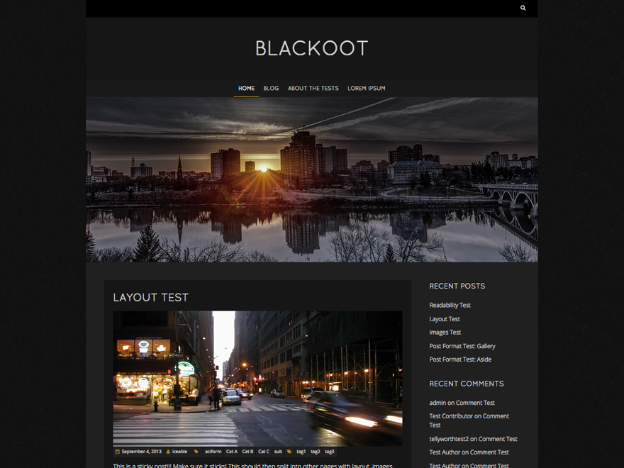 Blackoot Lite screenshot