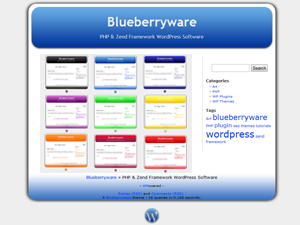 Blueberry screenshot