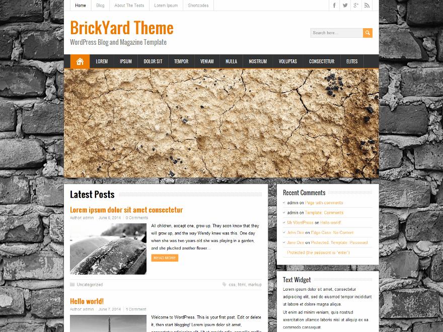 BrickYard - tong hop theme thang 8