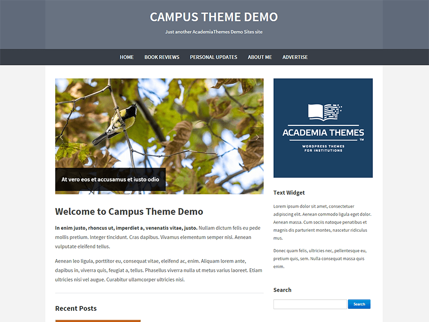 Campus screenshot