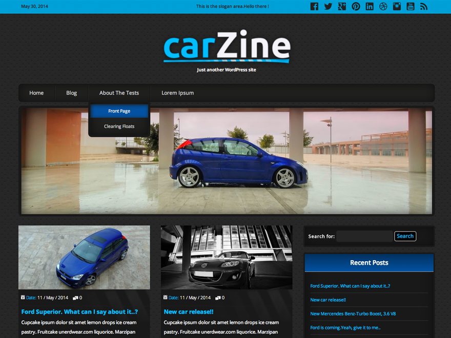CarZine screenshot