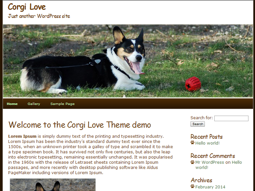 Corgi Love screenshot