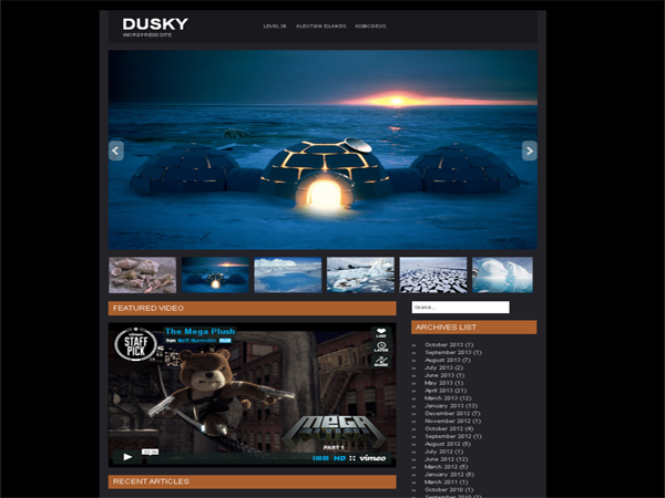 Dusky screenshot