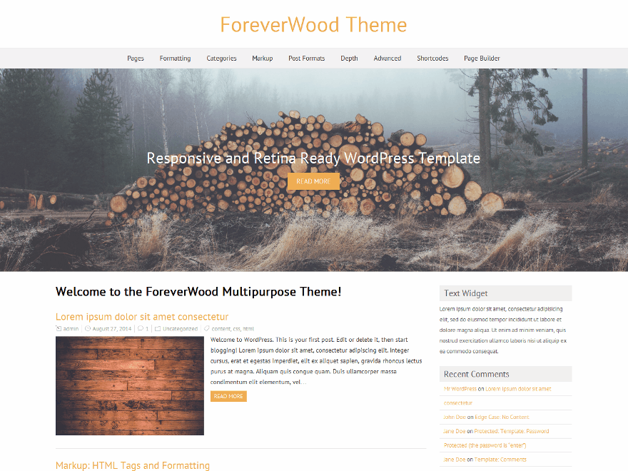 ForeverWood screenshot
