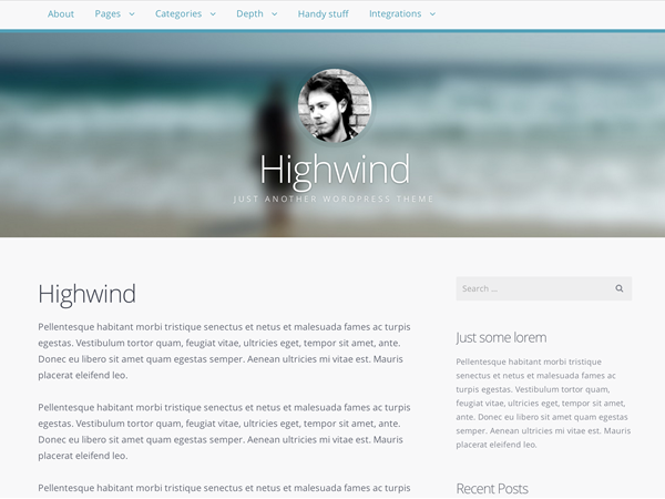 Highwind Free WooCommerce Theme