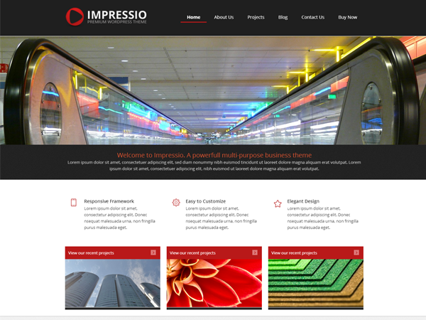 Impressio-Lite WordPress Theme