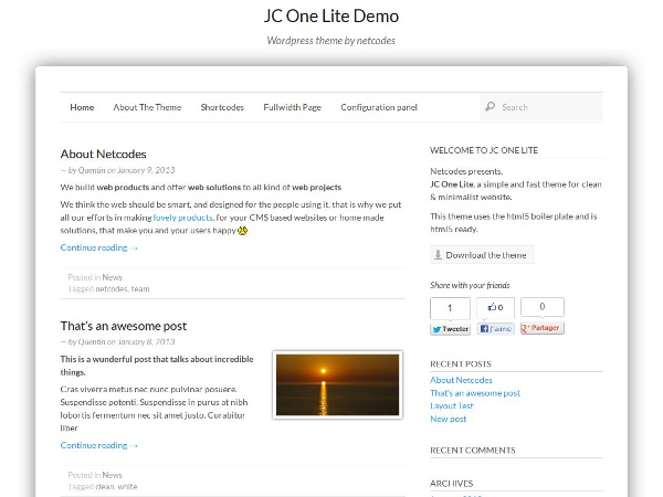 JC One Lite screenshot