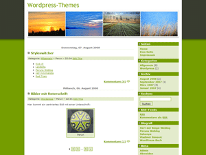 Landzilla is a Theme for WP 2.x. Made by Vladimir Simovic (aka Perun).