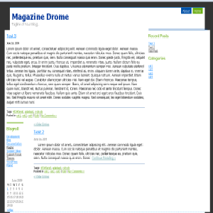 Magazine Drome screenshot