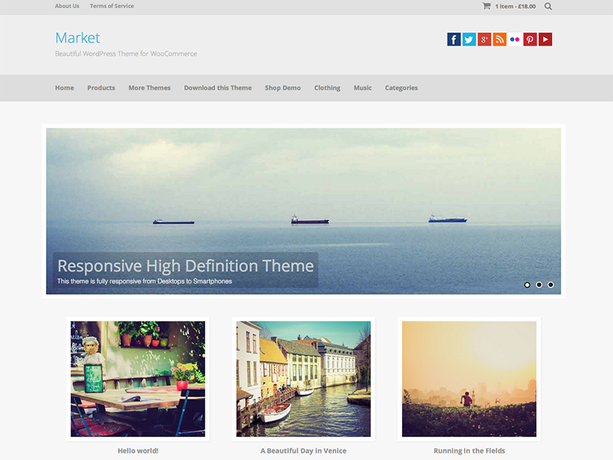 Market wp theme