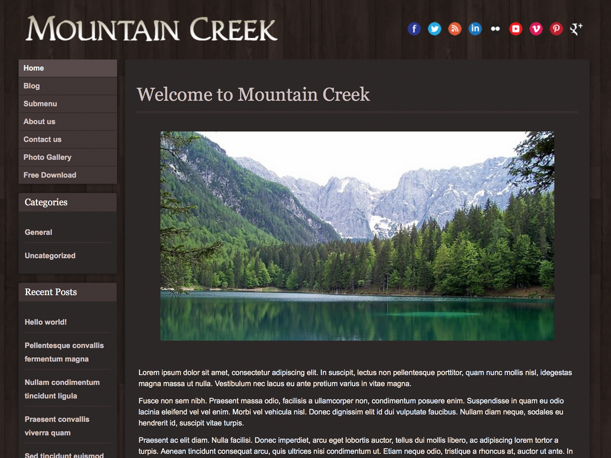 Mountain Creek screenshot