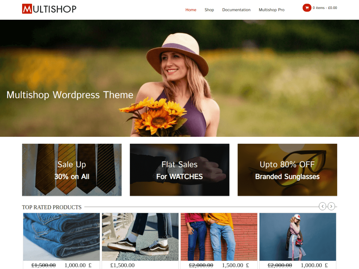 Multishop screenshot