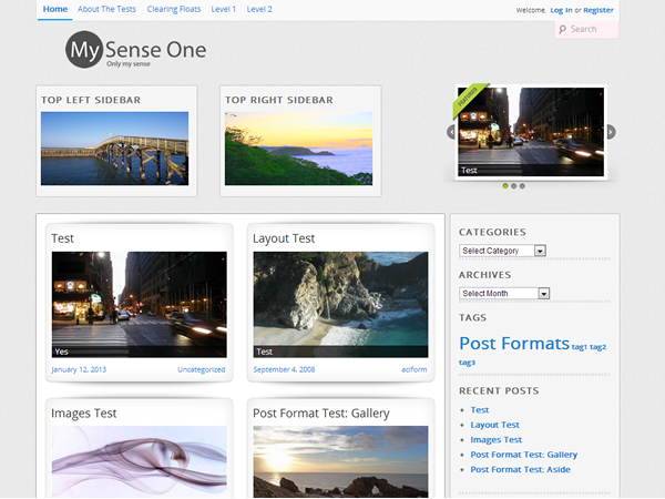 Mysense1 screenshot