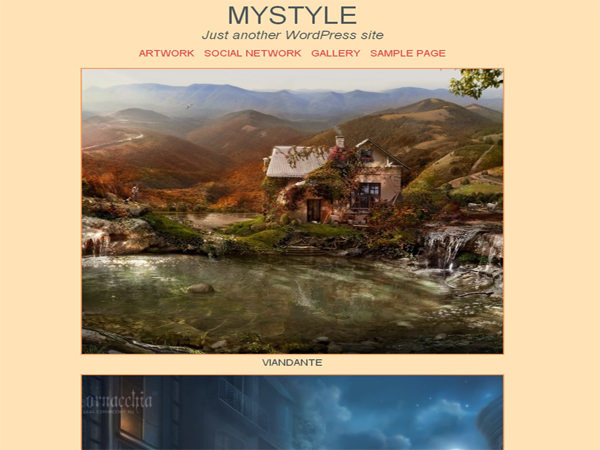 Mystyle screenshot