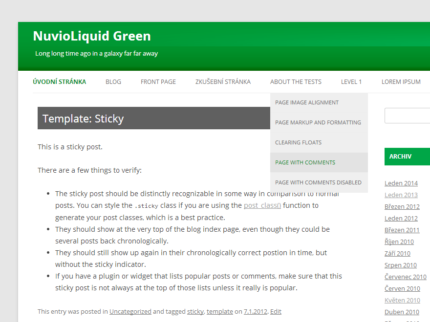 NuvioLiquid Green screenshot
