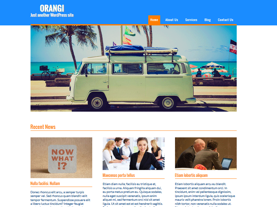 Orangi screenshot
