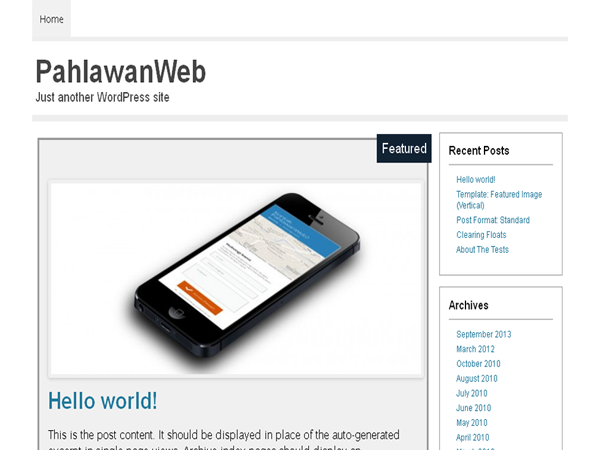 PahlawanWeb screenshot