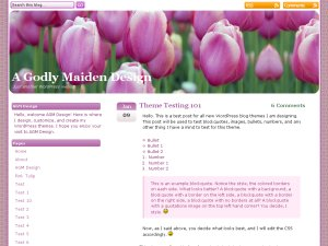 Pink Tulip screenshot