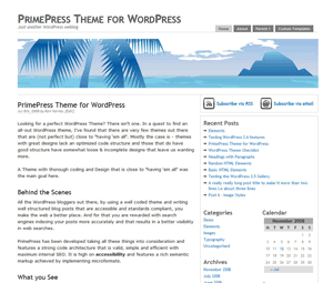 PrimePress screenshot