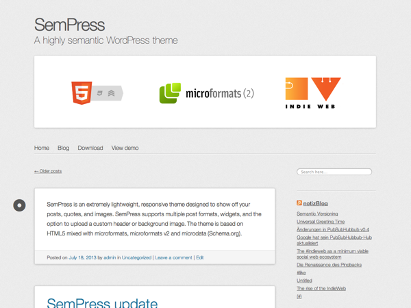 SemPress screenshot