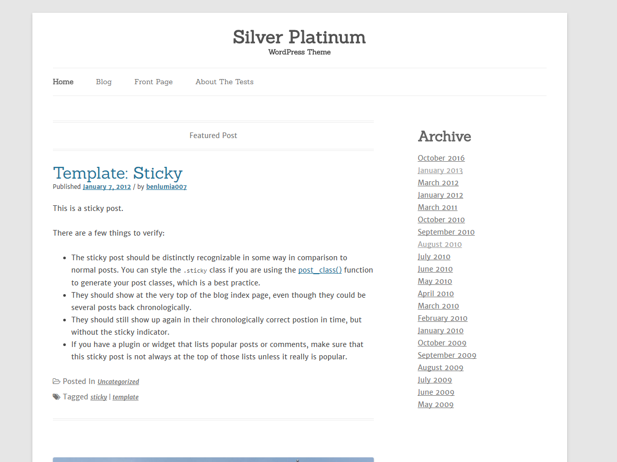 Silver Platinum screenshot