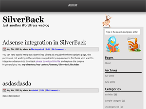 SilverBack screenshot