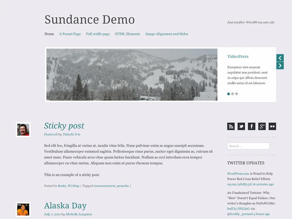 Sundance screenshot