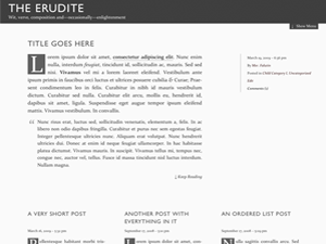 The Erudite screenshot