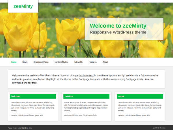 zeeMinty screenshot
