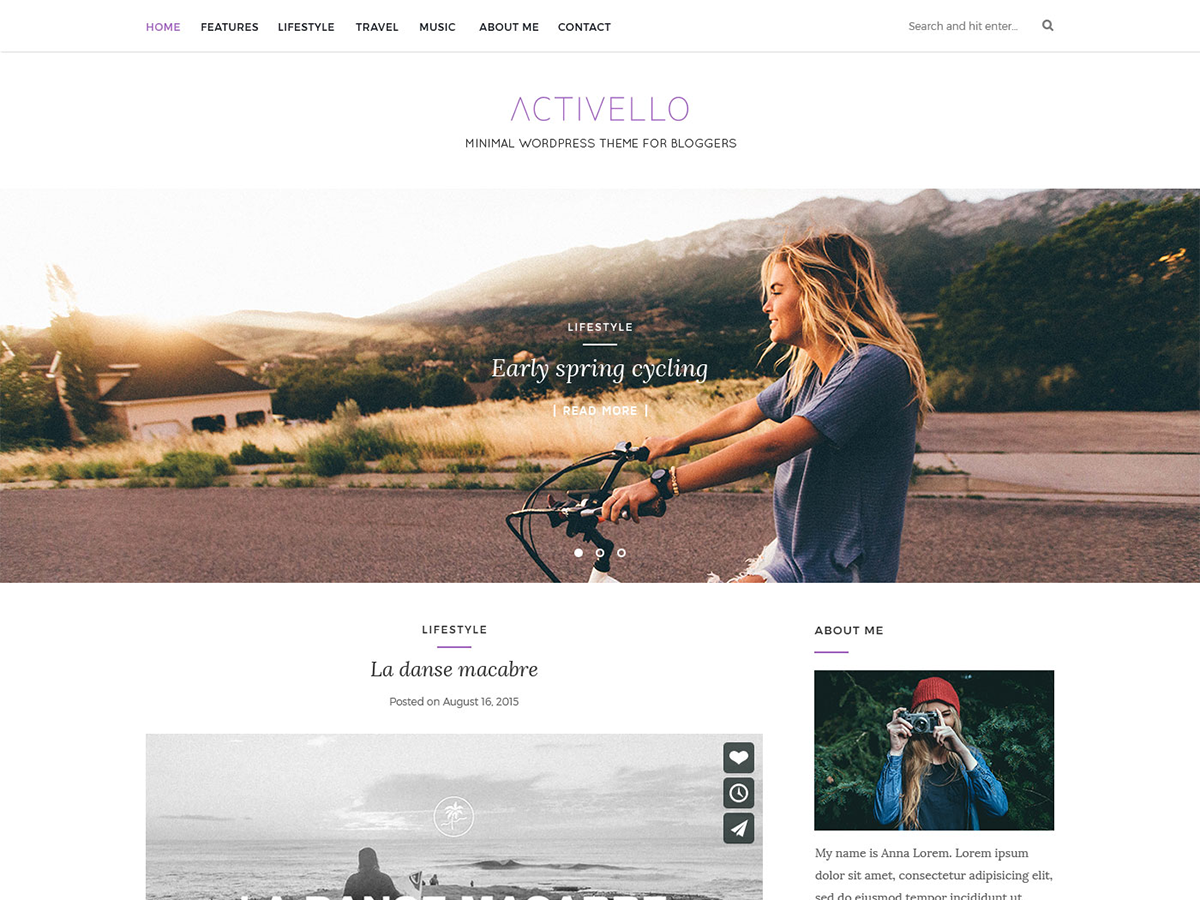 10 Best Free Fullscreen WordPress Themes 2019 3