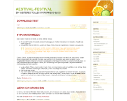 Aestival screenshot