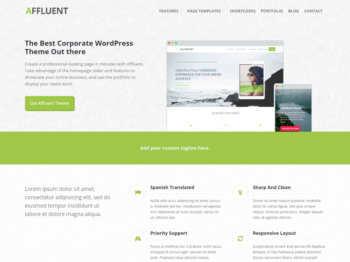 20+ Free and Clean WordPress Themes for Businesses and Blogs [sigma_current_year] 15