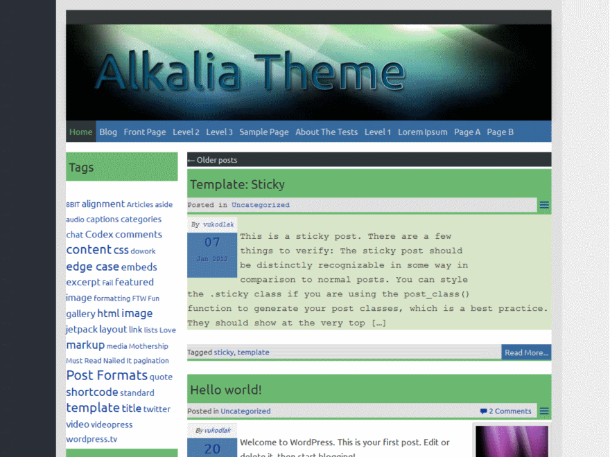 Alkalia screenshot