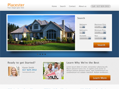 Allure Real Estate Theme for Placester screenshot