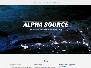 Alpha Source screenshot