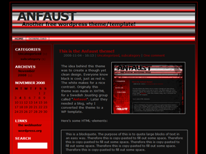 Anfaust screenshot