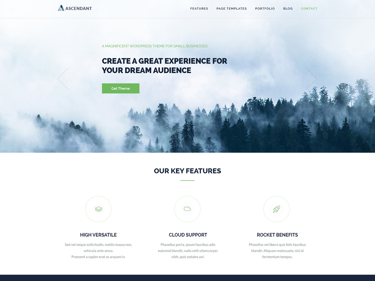 20+ Free and Clean WordPress Themes for Businesses and Blogs [sigma_current_year] 14