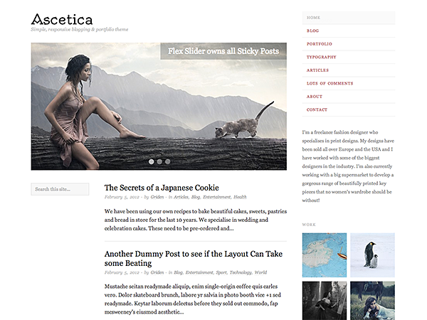 Ascetica screenshot