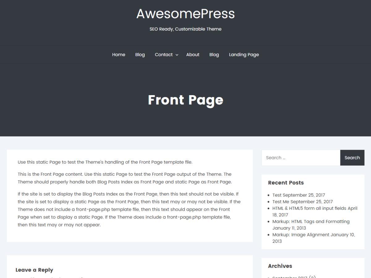 Best Free responsive WordPress Themes 2018 - EnvoThemes