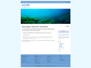 Azure Basic screenshot
