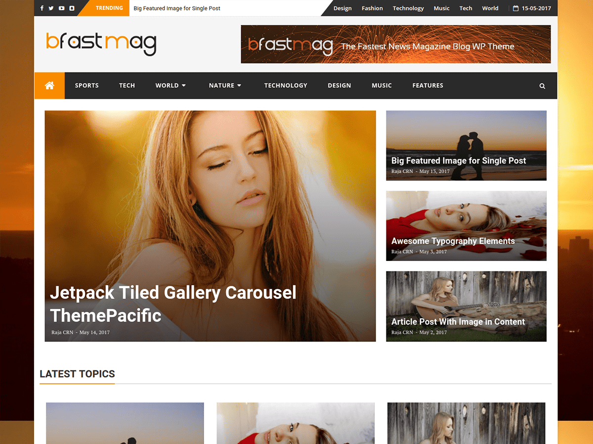 30+ Best Free Fashion WordPress Themes for Blogs [sigma_current_year] 11