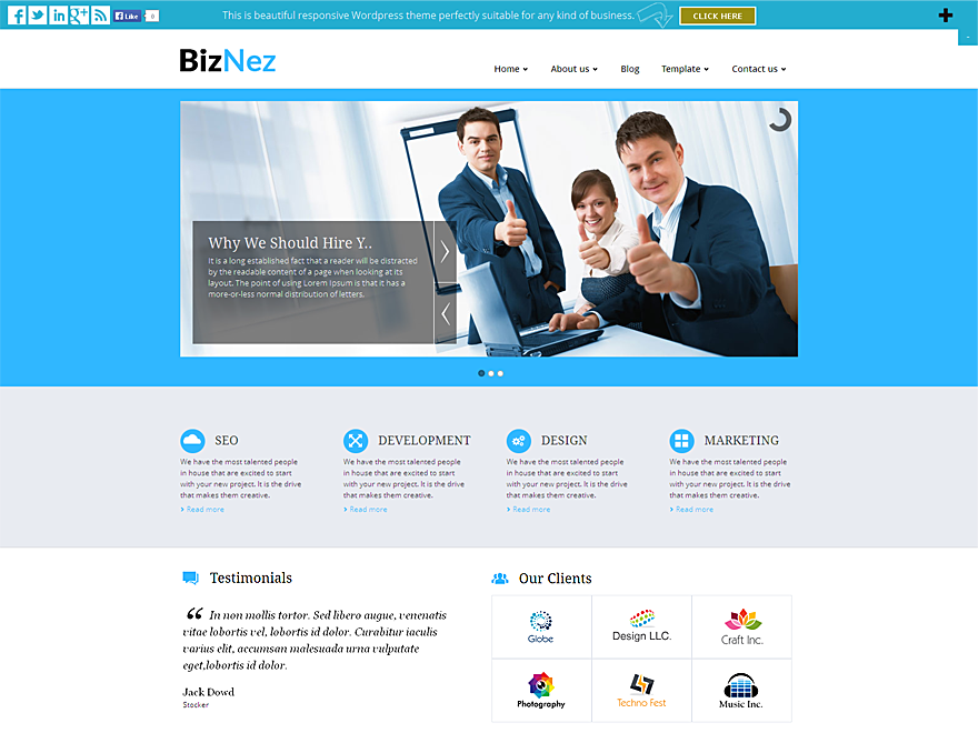 Biznez Lite screenshot