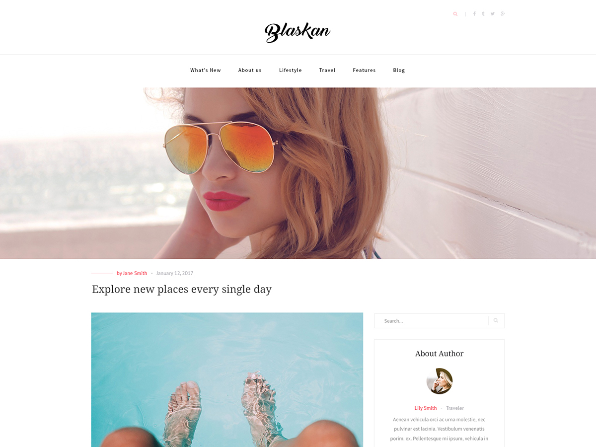 30+ Best Free Fashion WordPress Themes for Blogs [sigma_current_year] 5