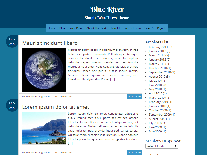 Blue River screenshot