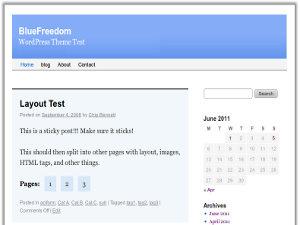 BlueFreedom screenshot