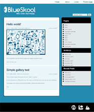 Blueskool screenshot