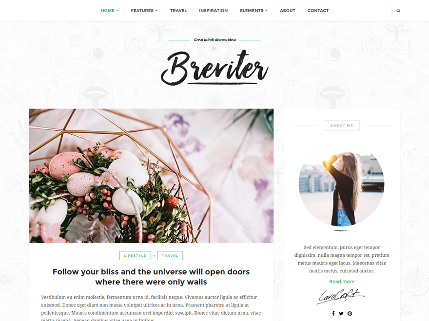 Top 35 Best Free WordPress Themes 2019 23