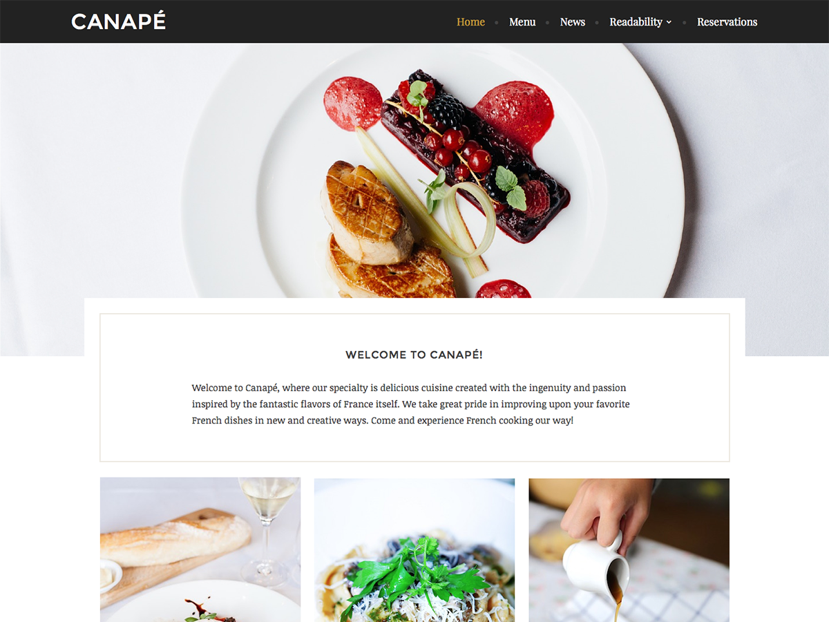 20+ Free Restaurant WordPress Themes 2019 19